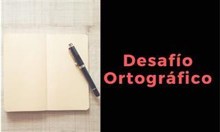 ¿Estás Listo Para Otro Desafío Ortográfico?