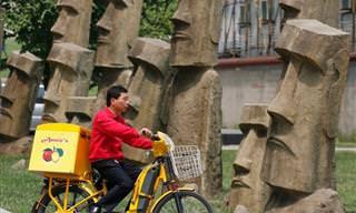 14 Copias Chinas De Monumentos y Edificios Del Mundo
