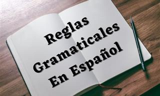 Test: Desafío De Reglas Gramaticales En Español