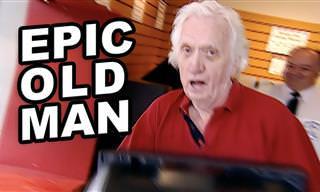 ¡Este Anciano Es El Mejor Bromista Del Mundo!