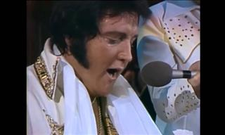 Elvis Presley Interpretando Increíblemente Unchained Melody