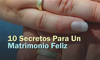 El Secreto Para Un Matrimonio Feliz Es Conocer Estos Tips