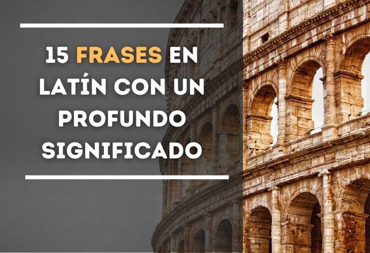 15 Frases En Latín Espiritualidad