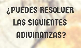 ¿Qué Tal Se Te Da Resolver <b>Adivinanzas</b>?