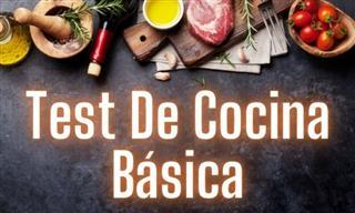 ¿Conoces <b>Lo</b> Básico Sobre Cocina?