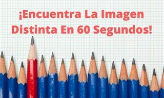 ¿Puedes Encontrar <b>La</b> <b>Imagen</b> Distinta En 60 Segundos?