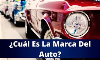 ¿Puedes Identificar La Marca <b>Del</b> Auto?