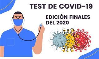 <b>Test</b> De Coronavirus: Edición De Finales Del 2020